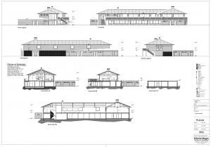 Nieuw clubhuis HRC buitenzijde