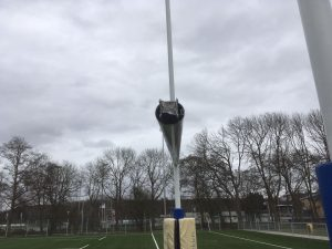 stormschade Haagsche Rugby Club 23 feb 2017