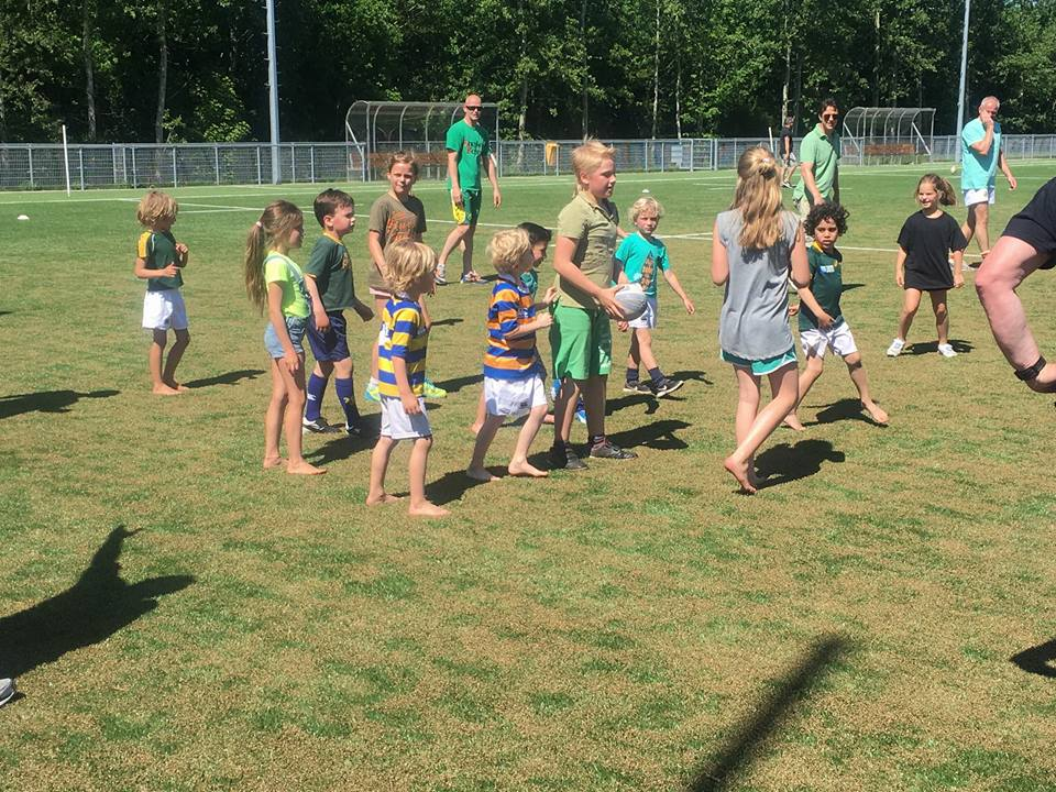 Van der Loos Family Touch Rugby Toernooi