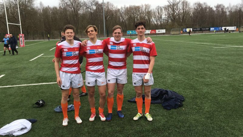 4 HRC Colts in Jong Oranje U18