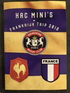 HRC Mini's tripboekje