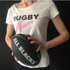 Rugby mum - all blacks